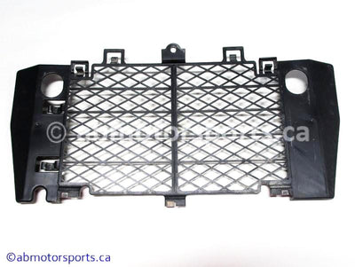 Used Yamaha ATV YFZ450 OEM part # 5TG-12467-10-00 radiator screen for sale