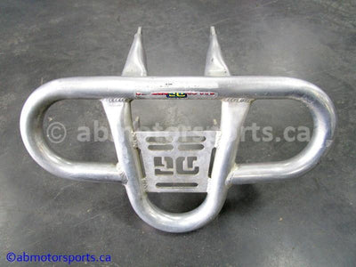 Used Yamaha ATV YFZ450 aftermarket replacement for OEM part # 5TG-2845N-40-00 front bumper for sale