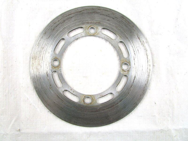A used Brake Disc F from a 2005 GRIZZLY 660 Yamaha OEM Part # 5KM-2582T-10-00 for sale. Yamaha ATV parts… Shop our online catalog… Alberta Canada!