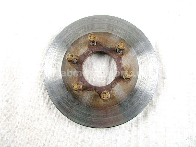 A used Rear Brake Disc from a 2005 GRIZZLY 660 Yamaha OEM Part # 5KM-2582V-00-00 for sale. Yamaha ATV parts… Shop our online catalog… Alberta Canada!