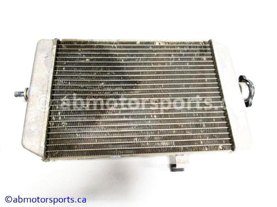 Used Yamaha ATV RAPTOR 660R OEM part # 5LP-12461-10-00 radiator for sale