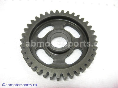 Used Yamaha Dirt Bike TTR 125 OEM part # 5AP-17211-00-00 first wheel gear 37 teeth for sale