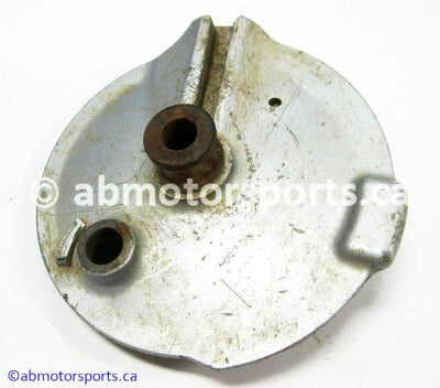 Used Yamaha Dirt Bike TTR 125 OEM part # 5HP-25321-00-00 rear brake plate for sale