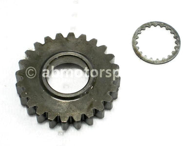Used Yamaha Dirt Bike YZ250F OEM part # 5NL-17151-00-00 fifth pinion gear 24 teeth for sale