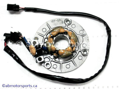 Used Yamaha Dirt Bike YZ450F OEM part # 5SF-85560-00-00 OR 5XD-85560-00-00 OR 5XD-85560-09-000 stator for sale