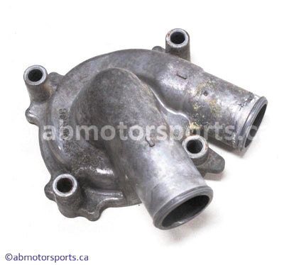 Used 1997 Yamaha Snowmobile V Max 600 OEM part # 8CR-12422-00-00 outer water pump housing for sale