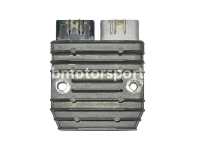 Used Yamaha UTV RHINO 700 FI OEM part # 1D7-81960-00-00 or 1D7-81960-01-00 rectifier regulator for sale