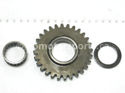 Used Yamaha UTV RHINO 700 FI OEM part # 3B4-17253-00-00 reverse wheel gear 28 teeth for sale