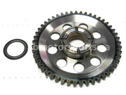 Used Yamaha UTV RHINO 700 FI OEM part # 3B4-15515-00-00 starter clutch gear 49 teeth for sale