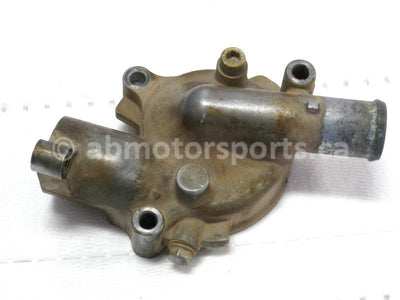 Used Yamaha UTV RHINO 700 FI OEM part # 5B4-12422-00-00 water pump housing cover for sale