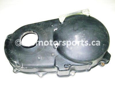Used Yamaha UTV RHINO 700 FI OEM part # 5B4-15431-01-00 OR 5B4-15431-00-00 clutch cover for sale