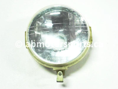 Used Yamaha UTV RHINO 700 FI OEM part # 4320-01-00 OR 5KM-84320-00-00 headlight lens for sale