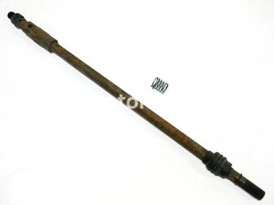 Used Yamaha UTV RHINO 700 FI OEM part # 5B4-46171-00-00 front drive shaft for sale