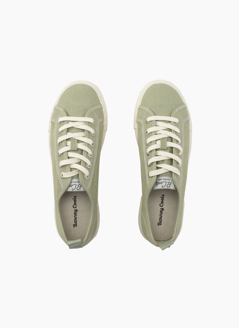 POOLSIDE SNEAKER SEAGRASS GREEN