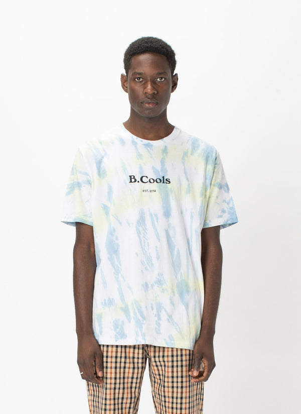 B.Cools Heritage Tee Faded Tie Dye