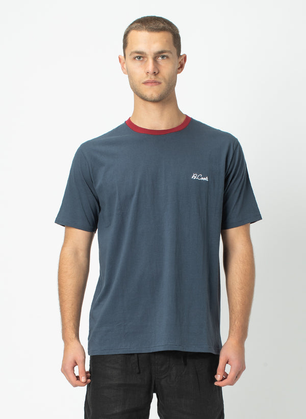 B.Cools Embro Tee Slate - Sale