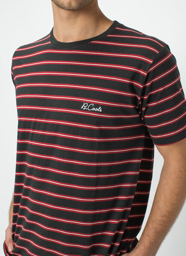 B.Cools Embro Tee Black Stripe