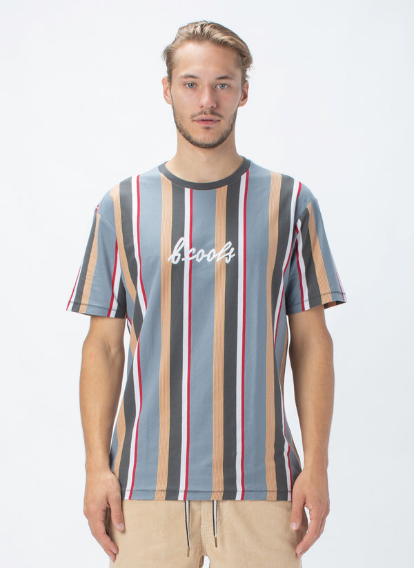 B.Cools Embro Homie Tee Black Vert Stripe - Sale