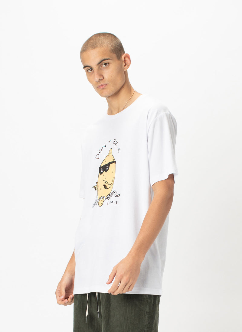 Lemon Tee White