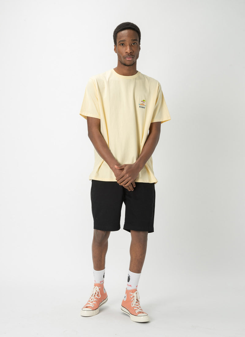 Island Embro Tee Lemon