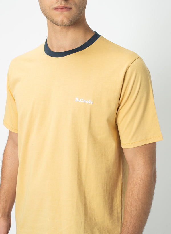 B.Cools Retro Tee Mustard - Sale