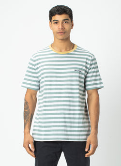 B.Cools Retro Tee Teal Stripe