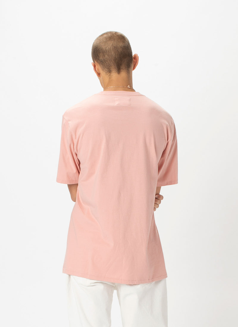 Retro Tee Dusty Pink