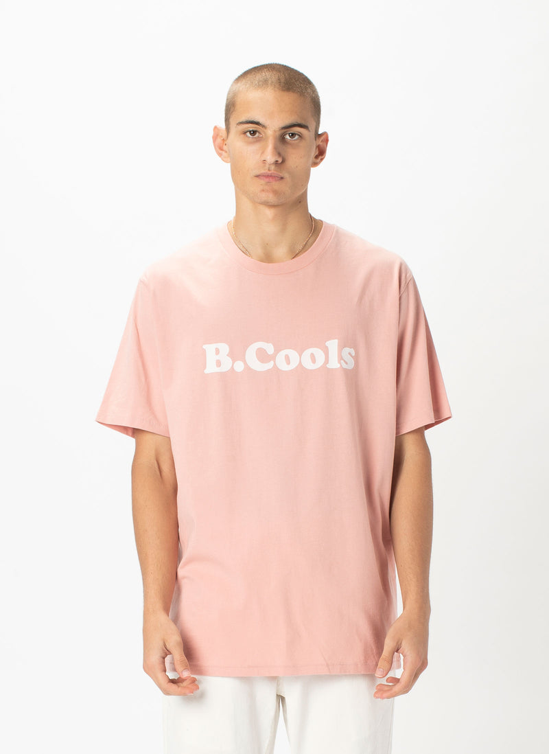Retro Logo Tee Dusty Pink