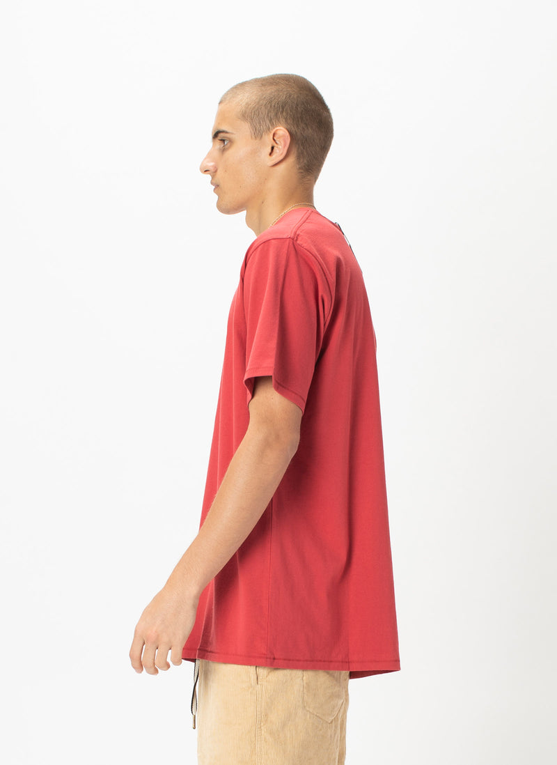 Retro Tee Dull Red