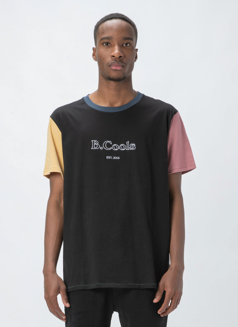 B.Cools Heritage Tee Colour Block