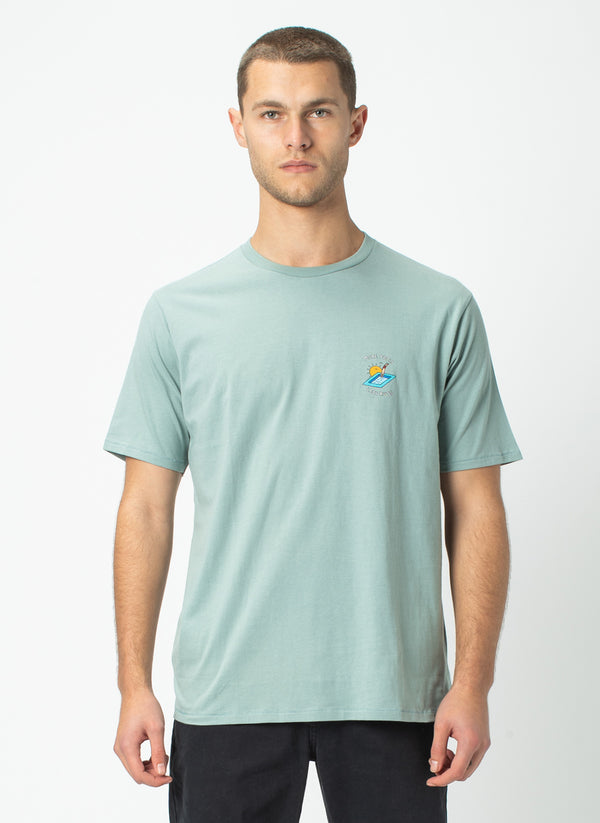 More Pools Tee Teal