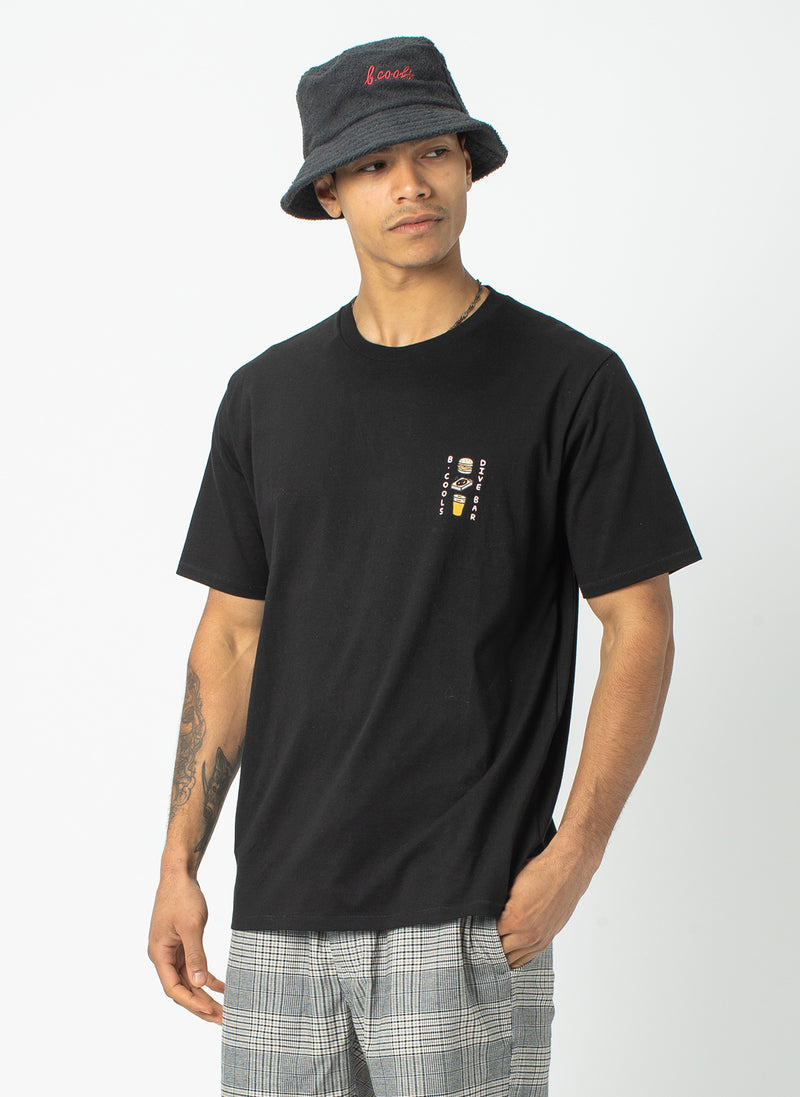 Dive Bar Tee Black