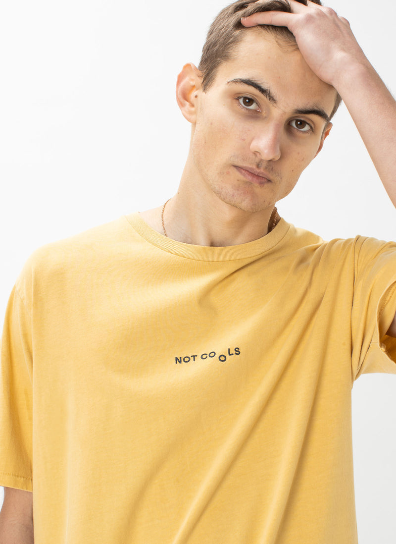 Not Cools Tee Mustard