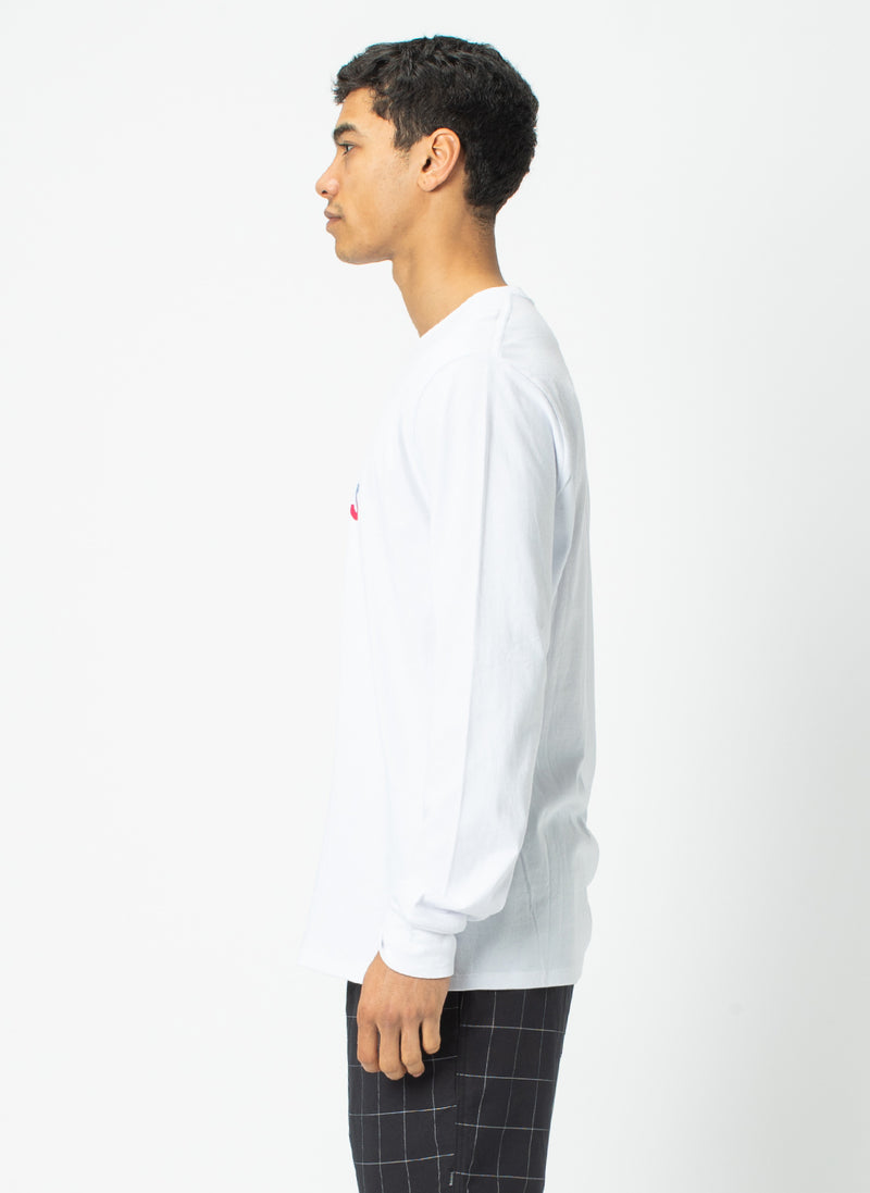 B.Cools Long Sleeve Tee White