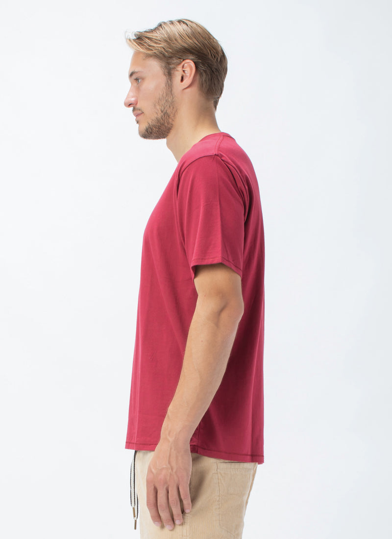 Paradise Tee Dull Red - Sale