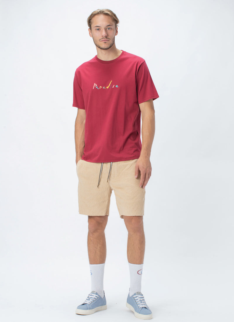 Tropicools Tee Dull Red