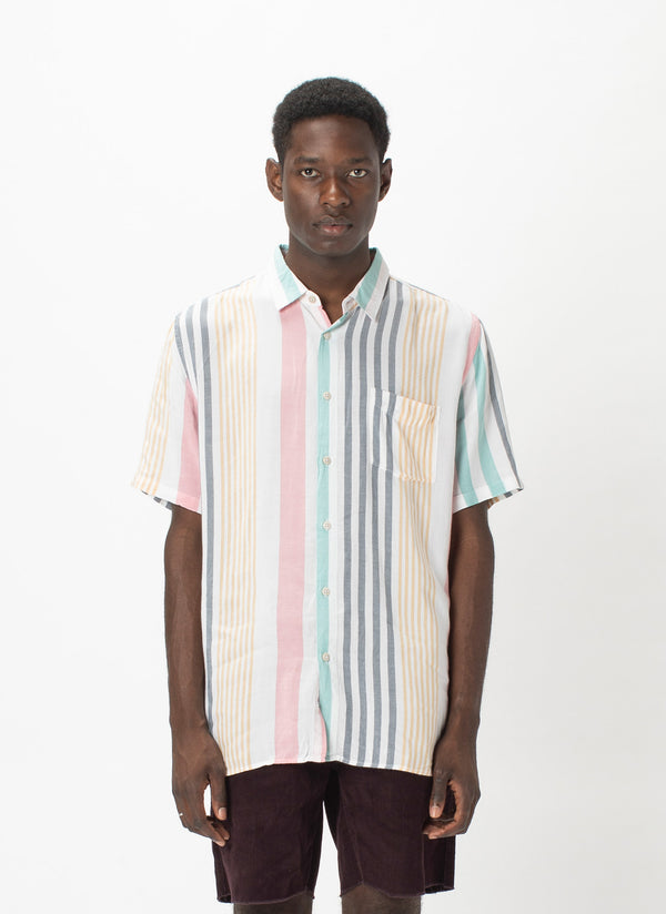 Holiday Short-Sleeve Shirt Candy Stripe - VIP