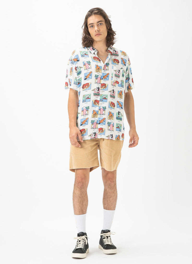 Holiday Short-Sleeve Shirt Australiana