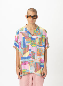 Holiday Camp-Collar Shirt Miami Day