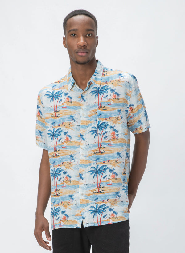 Holiday Short-Sleeve Shirt Hawaii