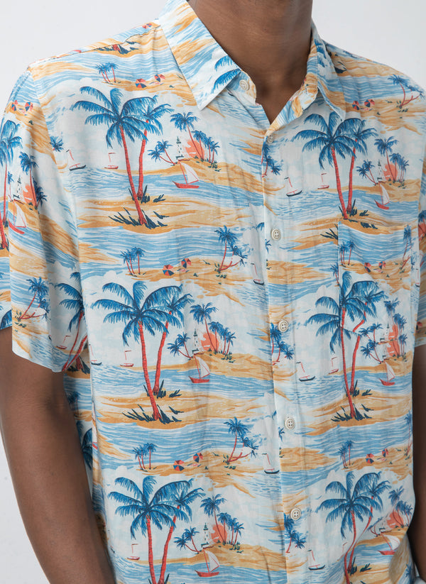 Holiday Short-Sleeve Shirt Hawaii - Sale