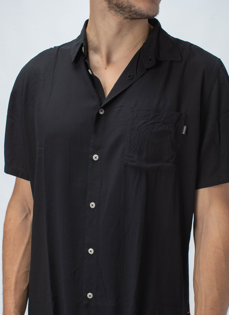 Holiday Short-Sleeve Shirt Black