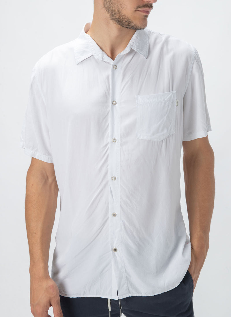 Holiday Short-Sleeve Shirt White