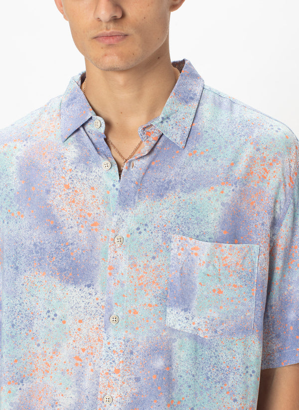 Holiday Short-Sleeve Shirt Sea Spray