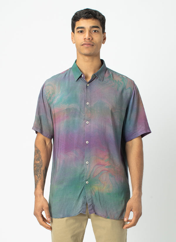 Holiday Short-Sleeve Shirt Magic Marble - Sale