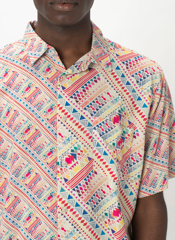 Holiday Short Sleeve Shirt Summer Boho - Sale