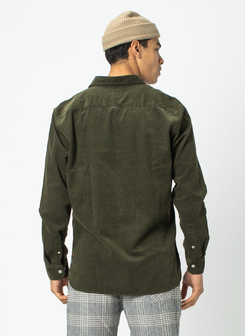 Cabin Long Sleeve Sage Cord - Sale