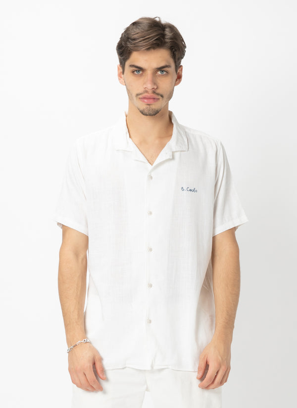 Holiday Camp-Collar Shirt White - Sale