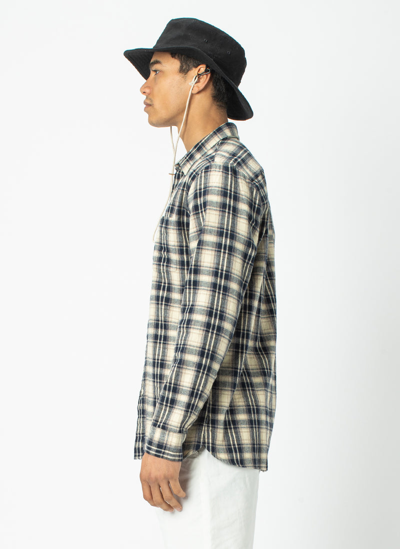 Cabin Long Sleeve Stone Check - Sale
