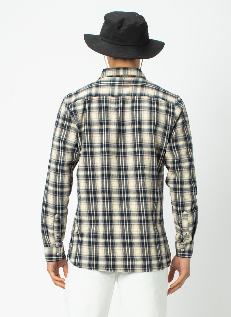 Cabin Long-Sleeve Stone Check - Sale